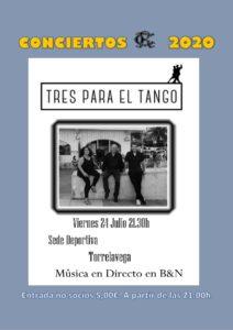 CONCIERTO 24-07-2020 @ Sede Deportiva