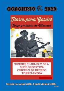 CONCIERTO 31-07-2020 @ Sede Deportiva
