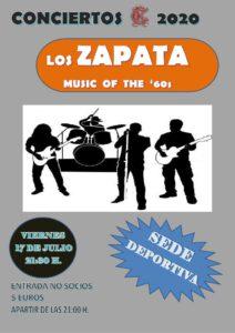 Concierto 17-07-2020 @ Sede Deportiva