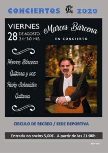 Concierto 28-08-2020 @ Sede Deportiva