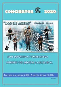 CONCIERTO 07-08-2020 @ Sede Deportiva