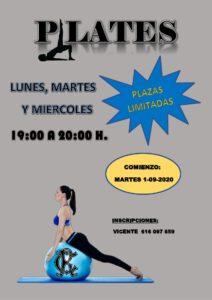 Pilates 01-09-2020 @ Sede Central