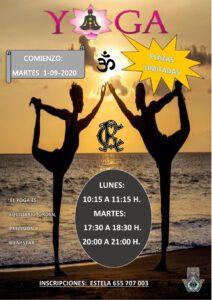 Yoga 01-09-2020 @ Sede Central
