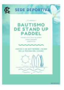 Bautismo 03-09-2020 @ Sede Deportiva