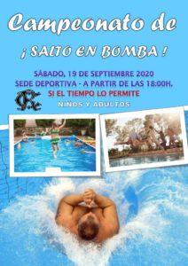 Salto en Bomba 19-09-2020 @ Sede Deportiva