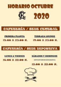 Hostelería Octubre 2020 @ Sede Central