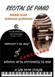 Recital Piano 28-11-2020 @ Sede Central