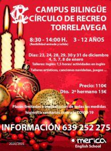 Campus Bilingüe Navidad 2020 (SUSPENDIDO) @ Sede Central
