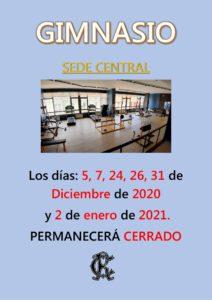 Gimnasio 02-01-2021 @ CIRCULO DE RECREO DE TORRELAVEGA
