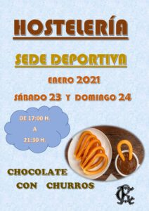 Hostelería 23 y 24-01-2021 @ Sede Deportiva