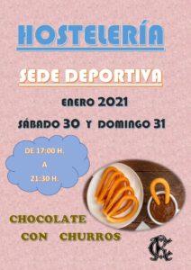 Hostelería 30 y 31-01-2021 @ Sede Deportiva