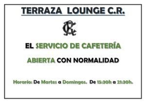 Abierta Terraza Lounge CR 12-02-2021 @ Sede Central