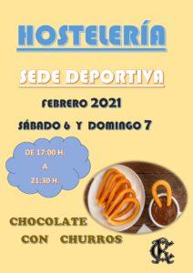 Hostelería 06 y 07-02-2021 @ Sede Deportiva