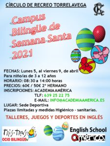 Campus Semana Santa 2021 @ SEDE DEPORTIVA