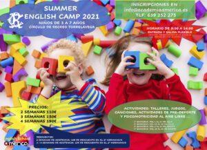 Campus  2021 niños/as de 3 a 7 años @ SEDE DEPORTIVA