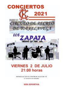 Concierto Los Zapata @ Sede Deportiva