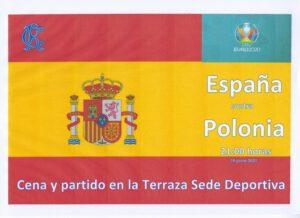 España Polonia 19-06-2021 @ SEDE DEPORTIVA
