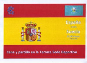 España-Suecia 14-06-2021 @ SEDE DEPORTIVA