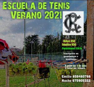 Escuela Tenis Verano 2021 @ SEDE DEPORTIVA
