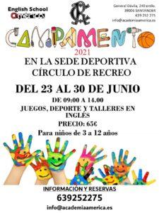Campamento Verano 2021 @ SEDE DEPORTIVA