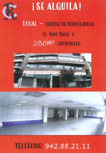 Alquiler local @ Sede Deportiva