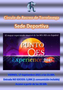 Concierto 17-09-2021 @ SEDE DEPORTIVA