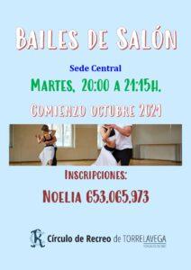 Bailes de Salón @ SEDE CENTRAL