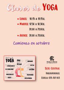 Yoga @ Sede Central
