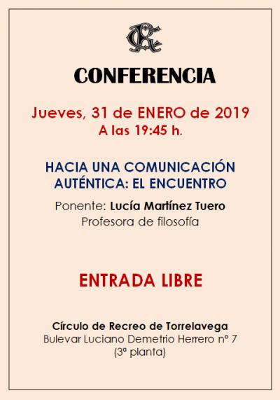 CONFERENCIA 31-01-2019