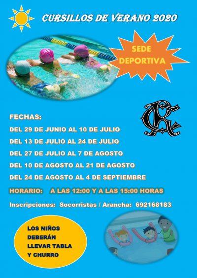 CURSILLO DE VERANO 2020 27-06-2020