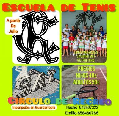 Escuela de Tenis verano 2021