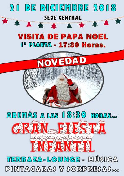 FIESTA Y PAPA NOEL 21-12-2018
