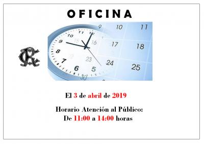 HORARIO DÍA 3