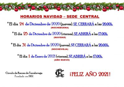 HORARIOS SEDE CENTRAL NAVIDAD 2020_page_1