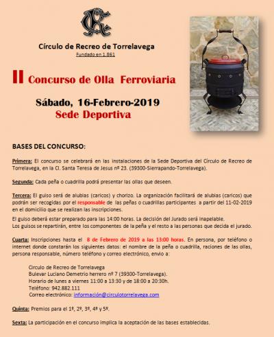 II CONCURSO DE OLLA 16-02-2019