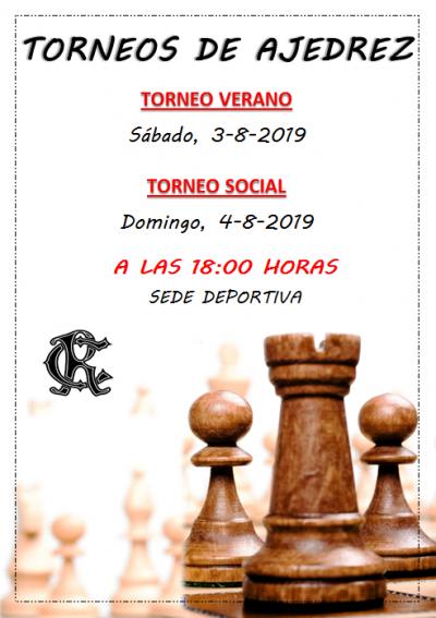 TORNEOS AJEDREZ