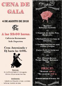 CENA DE GALA 2018 @ Sede Deportiva