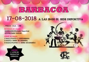Barbacoa 2018 @ Sede Deportiva