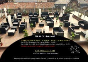 TERRAZA LOUNGE CR @ Sede Central