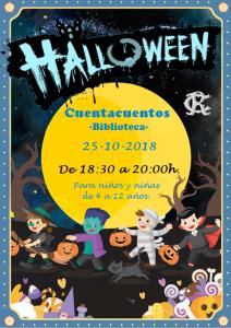 Cuentacuentos Halloween 2018 @ Sede Central