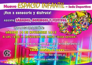 Nuevo Espacio Infantil @ Sede Deportiva
