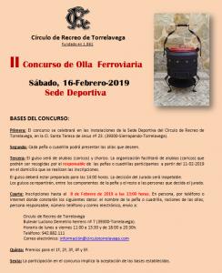 II Concurso de Olla Ferroviaria @ Sede Deportiva