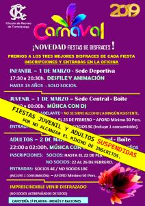 Fiestas Carnaval