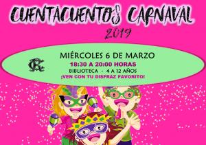 Cuentacuentos Carnaval @ Sede Central - Biblioteca