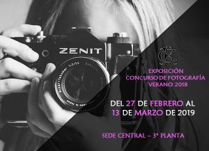 Exposición Concurso de Fotografía Verano 2018 @ Sede Central