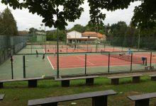 Pistas de tenis con gradas