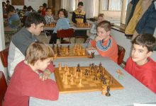 Escuela de ajedrez, alumnos jugado