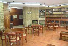 Mesas del Salón de lectura