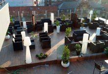 Terraza lounge, vista general lateral