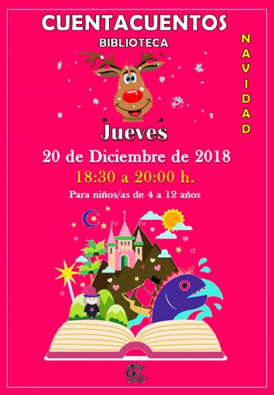 CUENTACUENTOS NAVIDAD 20-12-2018